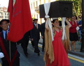 Entrega de la Kutxa en la Festividad de Santiago Apóstol